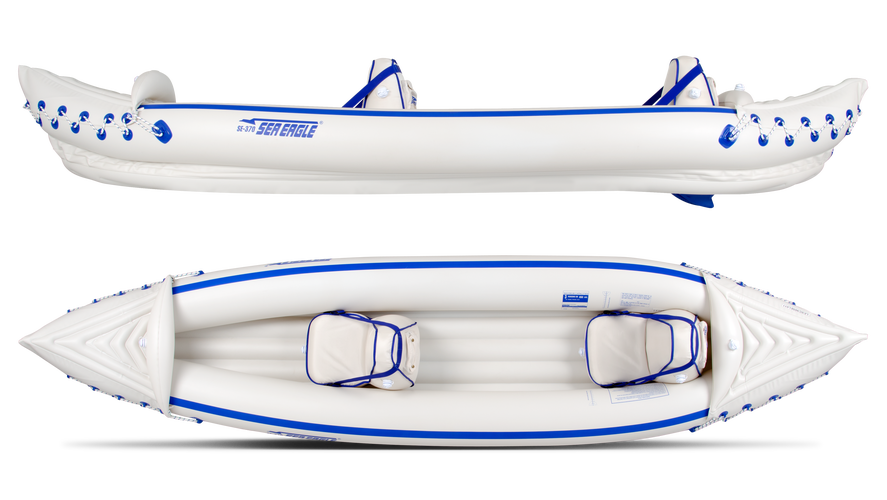 Sea Eagle 370 Affordable Fishing Kayak
