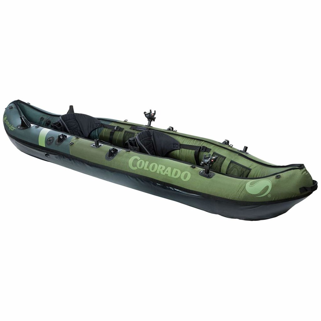 Sevylor 2 Person Fishing Kayak, Coleman Colorado