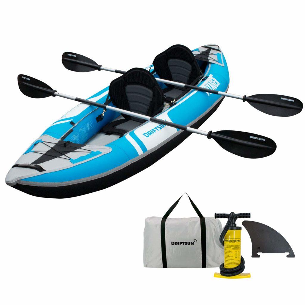 Driftsun Voyager 2 Person Inflatable Tandem Kayak
