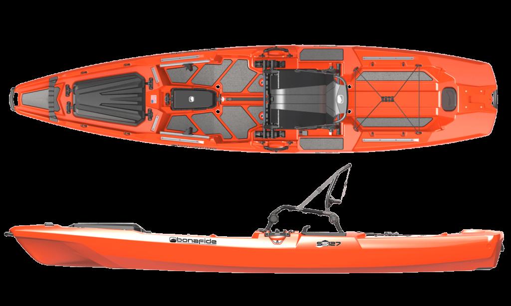 Bonafide SS 127 Ocean Fishing Kayak