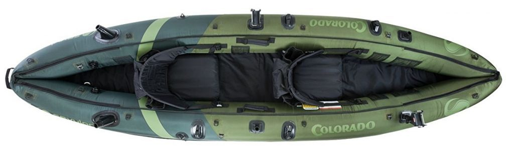 Sevylor Coleman Colorado Affordable Fishing Kayak