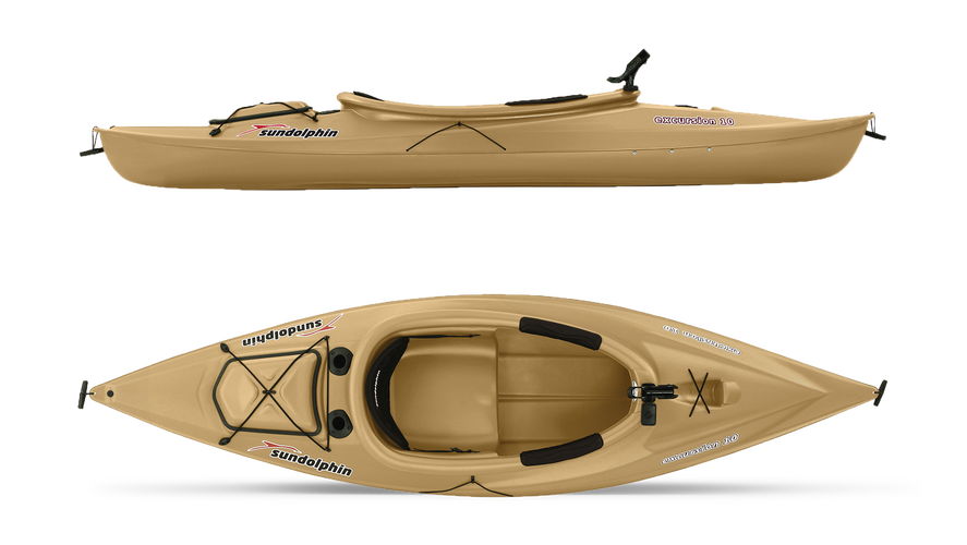Sun Dolphin Excursion River Fishing Kayak