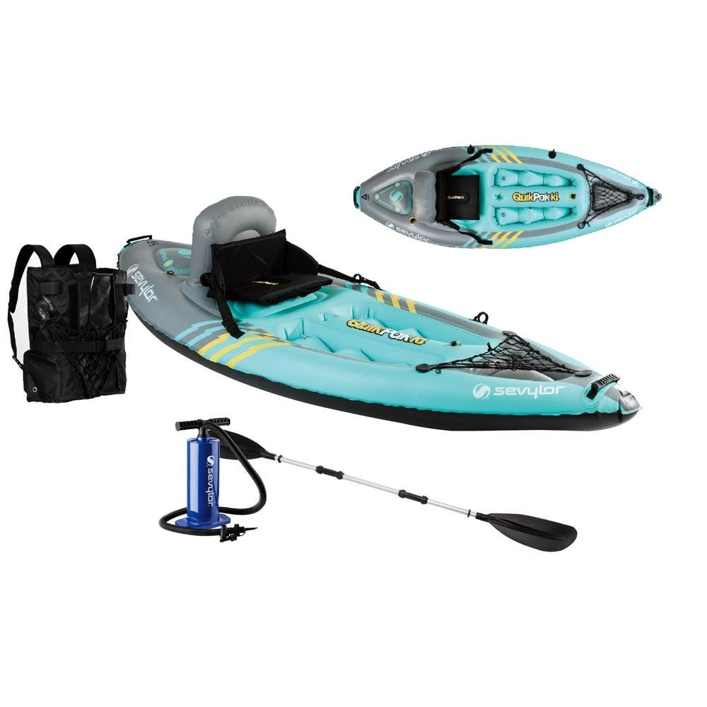 Sevylor Coleman Quikpak Affordable Fishing Kayak