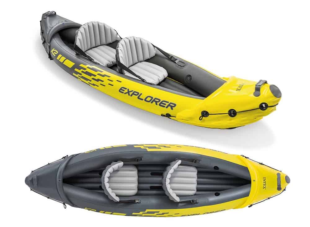 Inter Explorer K2 Affordable Fishing Kayak