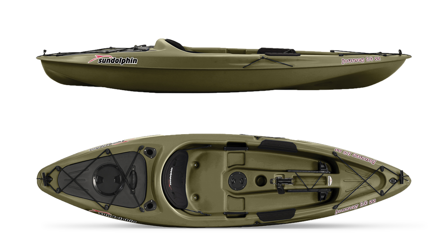 Sun Dolphin Journey Affordable Fishing Kayak