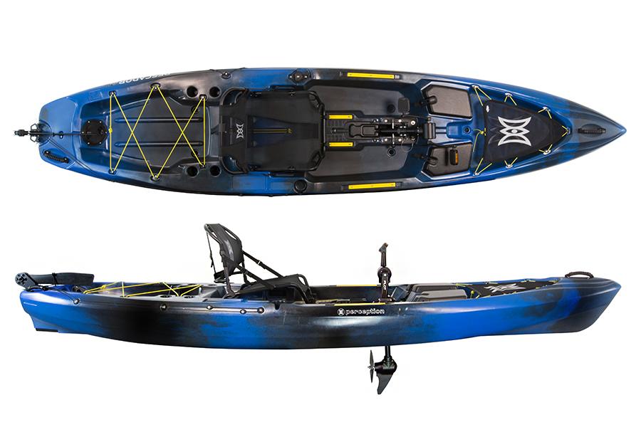 Perception Pescador Pro 12.0 River Fishing Kayak