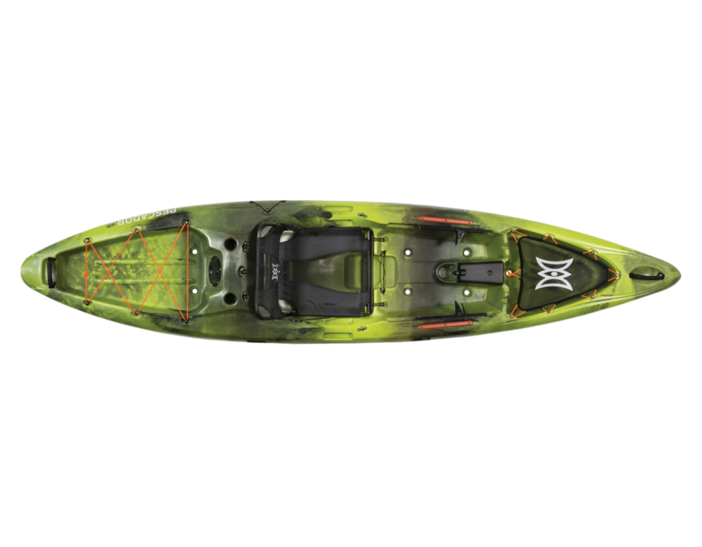 Perception Pescador Pro Sit on Top Kayak for Fishing- 12.0