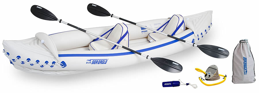 Sea Eagle SE330 Affordable Fishing Kayak