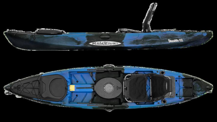 Malibu Stealth 12 River Fishing Kayak