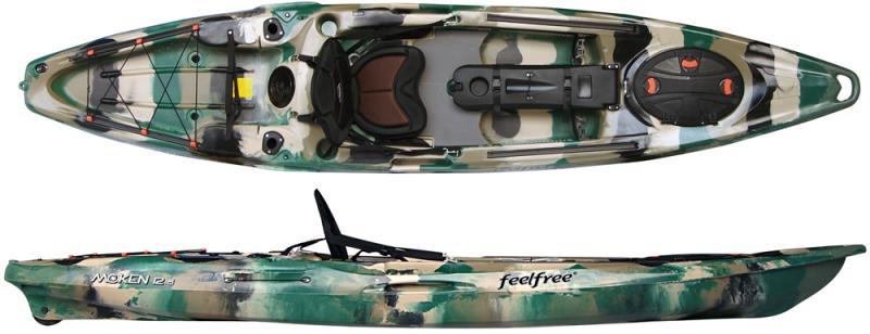 FeelFree Moken 12.5 River Fishing Kayak