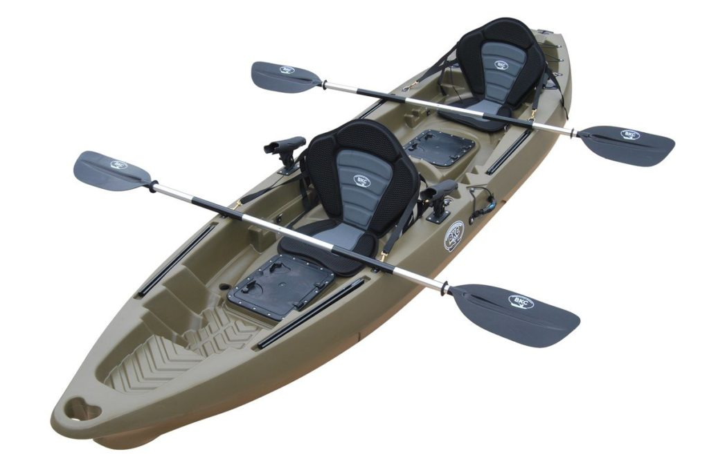 BKC TC122 12.9' Tandem Fishing Kayak